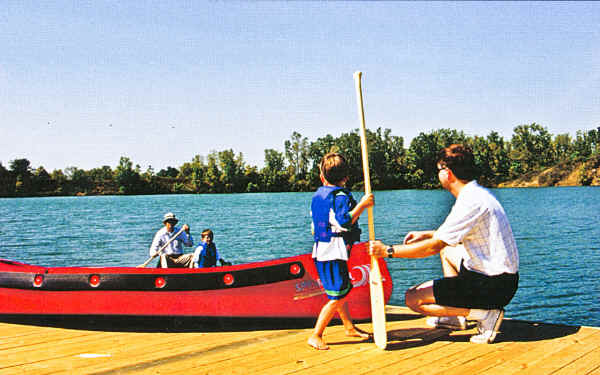 Sportspal canoes are safe for kids