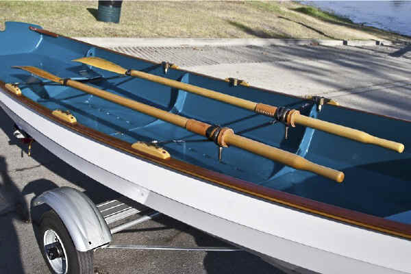 Trailex SUT-200-S Trailer Shown With Wineglass Rowboat