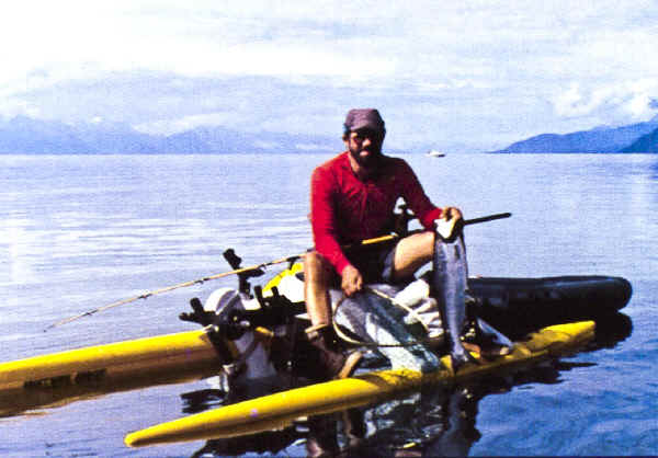 Water Bike used for Fishing